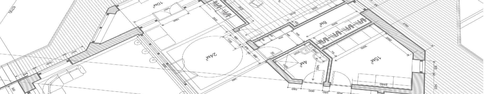 Bauzeichnung Architektur